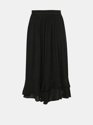 Černá sukně ONLY CARMAKOMA Savannah