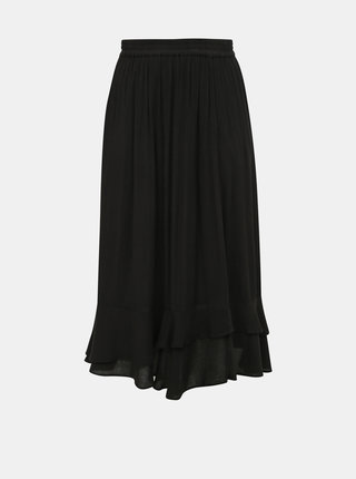 Čierna sukňa ONLY CARMAKOMA Savannah
