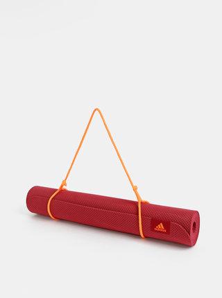 Červená podložka na jógu adidas Performance