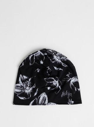 Čierna dámska kvetovaná čapica Maloja Parfurgga