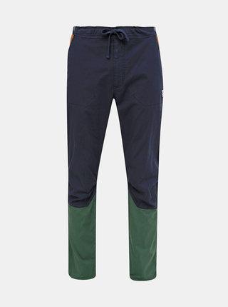 Tmavě modré pánské konopné kalhoty Maloja Esra
