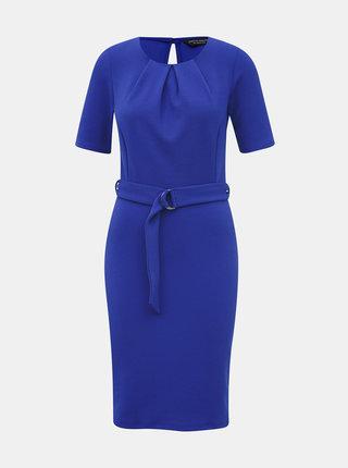 Modré púzdrové šaty Dorothy Perkins