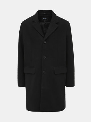 Čierny pánsky kabát ZOOT