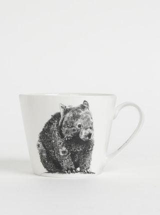 Bílý porcelánový hrnek s motivem wombata Maxwell & Williams