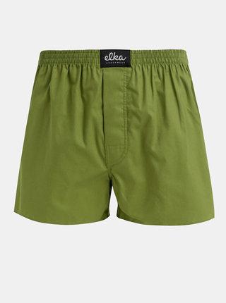 Zelené pánské trenýrky El.Ka Underwear