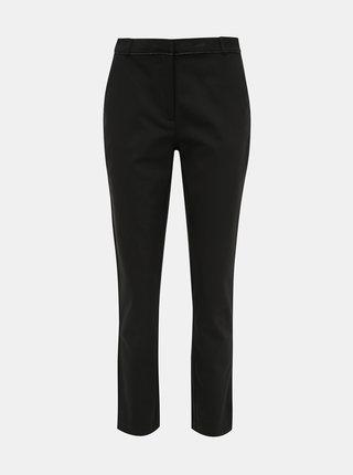 Černé kalhoty s lampasem VILA Adelia