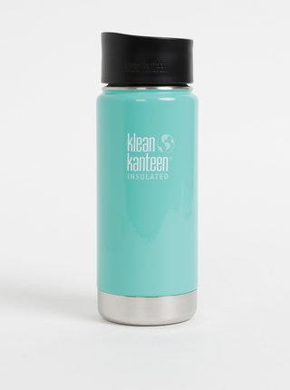 Modrý nerezový termohrnek Klean Kanteen 473 ml