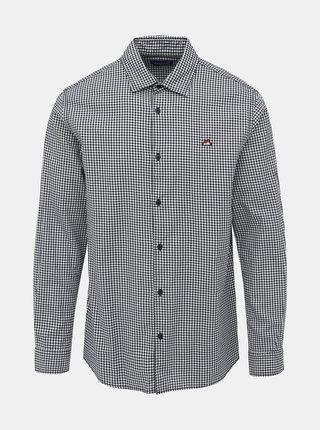 Šedá kockovaná comfort fit košeľa Jack & Jones Rivan