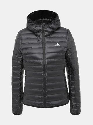 Čierna dámska prešívaná bunda adidas Performance Varilite