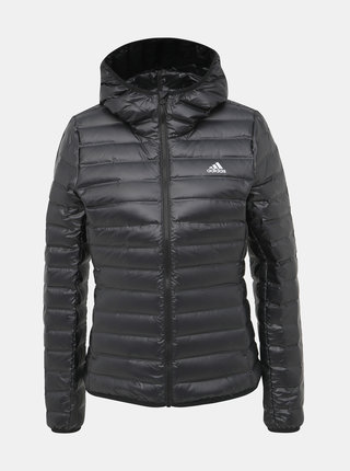 Černá dámská prošívaná bunda adidas Performance Varilite