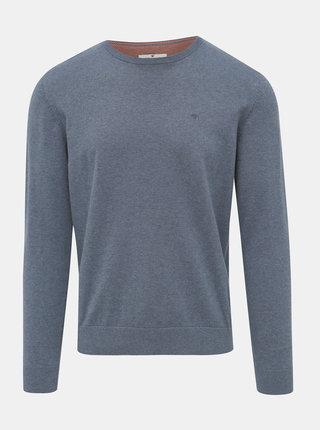 Modrý pánský basic svetr Tom Tailor