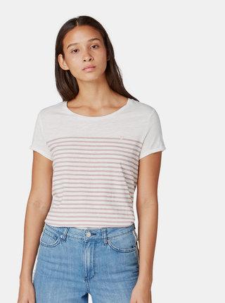 Dámske pruhované tričko Tom Tailor Denim