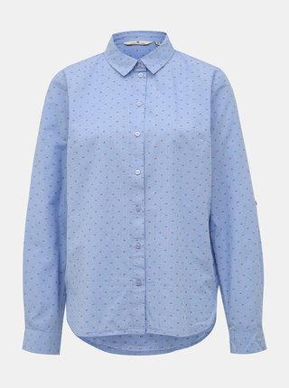 Modrá dámská vzorovaná košile Tom Tailor