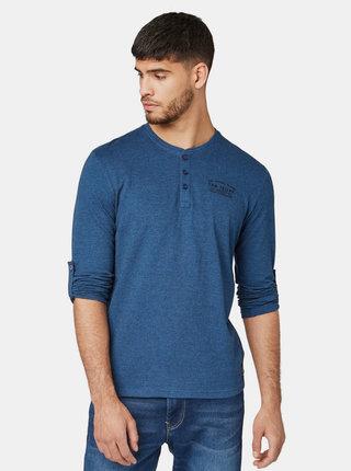 Modré pánske tričko Tom Tailor