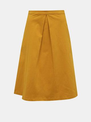 Horčicová sukňa ZOOT Kinga