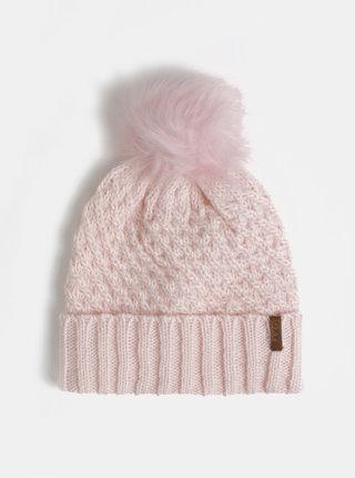 Rúžová čapica s bambuľou Roxy Blizzard Beanie