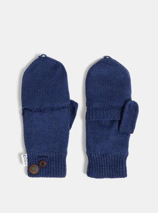Tmavě modré rukavice s příměsí kašmíru Roxy Alta