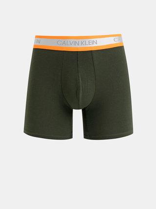 Khaki boxerky Calvin Klein Underwear