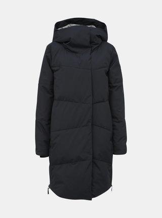 Čierny prešívaný nepromokavý páperový zimný kabát Roxy Abbie