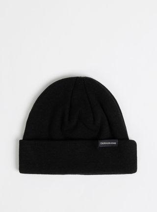 Čierna čapica Calvin Klein Jeans