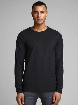 Bluza neagra Jack & Jones Basic
