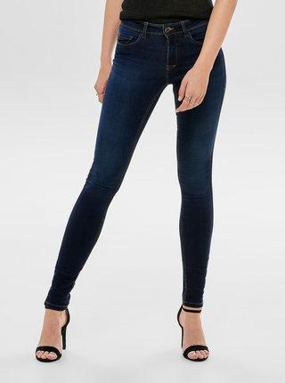 Tmavě modré skinny fit džíny ONLY