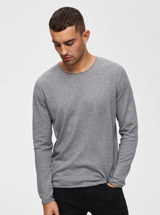 Selected Homme Dome Grey Melange Jumper