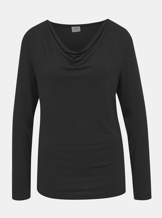 Černé tričko Jacqueline de Yong