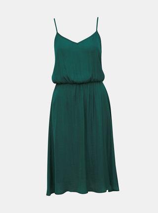 Zelené šaty na ramínka Jacqueline de Yong