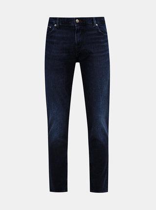 Tmavě modré pánské slim fit džíny Tommy Hilfiger