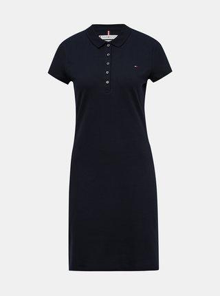 Tmavě modré basic šaty Tommy Hilfiger Heritage