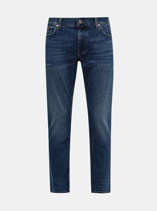 Modré pánské straight fit džíny Tommy Hilfiger
