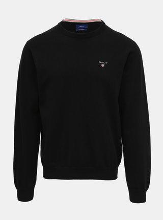 Černý pánský svetr s příměsí vlny GANT