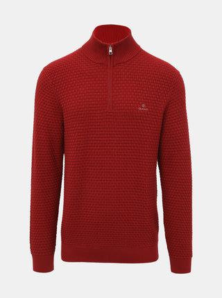 Červený pánský svetr GANT