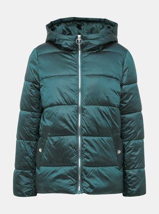 Zelená zimná prešívaná bunda ONLY Naiomi