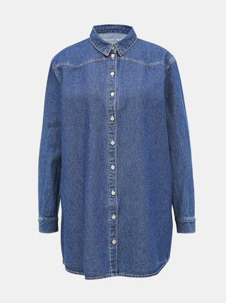 Modrá džínová košile Noisy May Beata