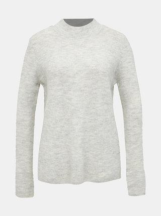 Svetlošedý dámsky sveter Tom Tailor Denim