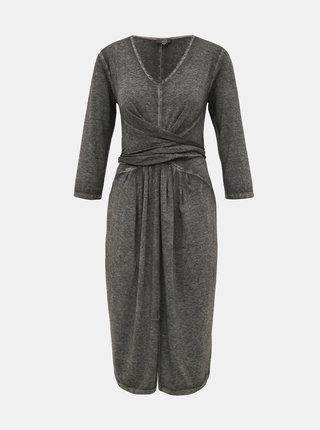 Šedé šaty Yest
