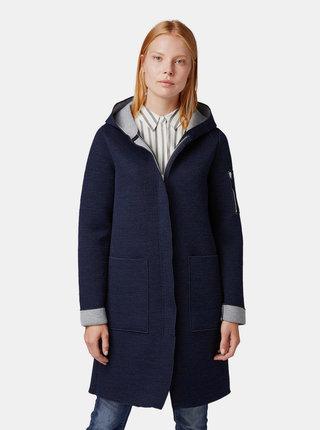 Tmavomodrý dámsky ľahký kabát Tom Tailor