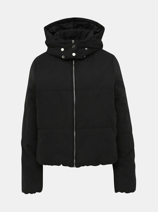 Čierna prešívaná zimná bunda VILA Leyda