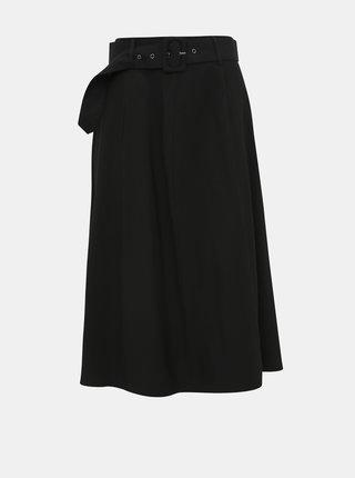 Čierna midi sukňa VILA Dacota