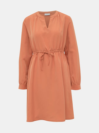 Oranžové šaty VILA Joan