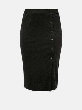 Čierna púzdrová sukňa ONLY CARMAKOMA Mikka