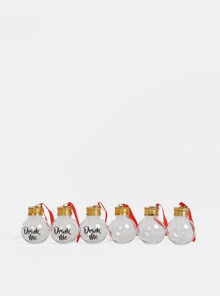 Sada šiestich vianočných ozdôb Gift Republic