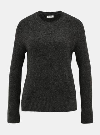 Šedý basic sveter Jacqueline de Yong Crea