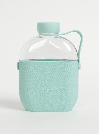 Láhev na vodu s mentolovým silikonovým obalem HIP 650 ml