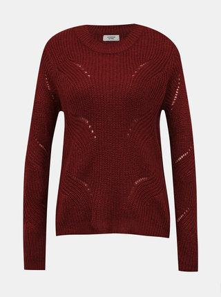 Tehlový sveter Jacqueline de Yong Daisy