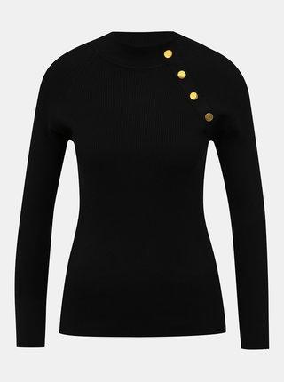 Černý svetr Jacqueline de Yong Plum