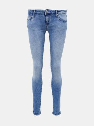 Světle modré skinny fit džíny ONLY Coral
