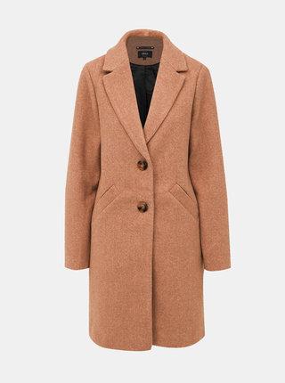 Světle hnědý kabát ONLY Veronica